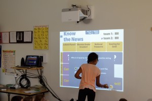 April 2016: Interactive whiteboards enhance classroom instruction and learning