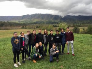 Grade 8 Class Trip to the Smoky Mountains