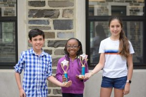 Middle School Science Fair Winners