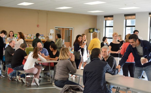The PA's first Coffee Break 2018-19