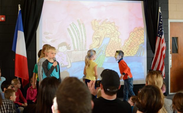 Grade 2 Forum: A trip around the world