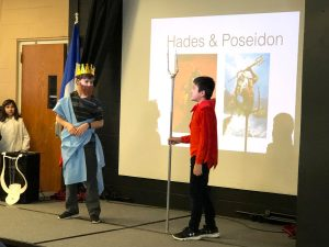 Grade 6 forum on Greek Mythology