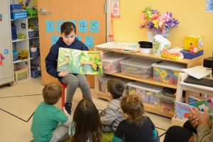 Springtime stories in Maternelle