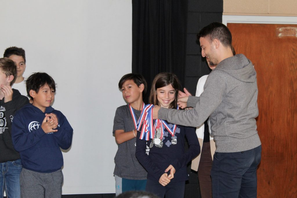 FASP Flames Hold Soccer Awards