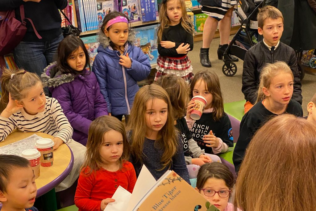 French American School of Princeton Hosts Annual Book Fair at Local Bookstore
