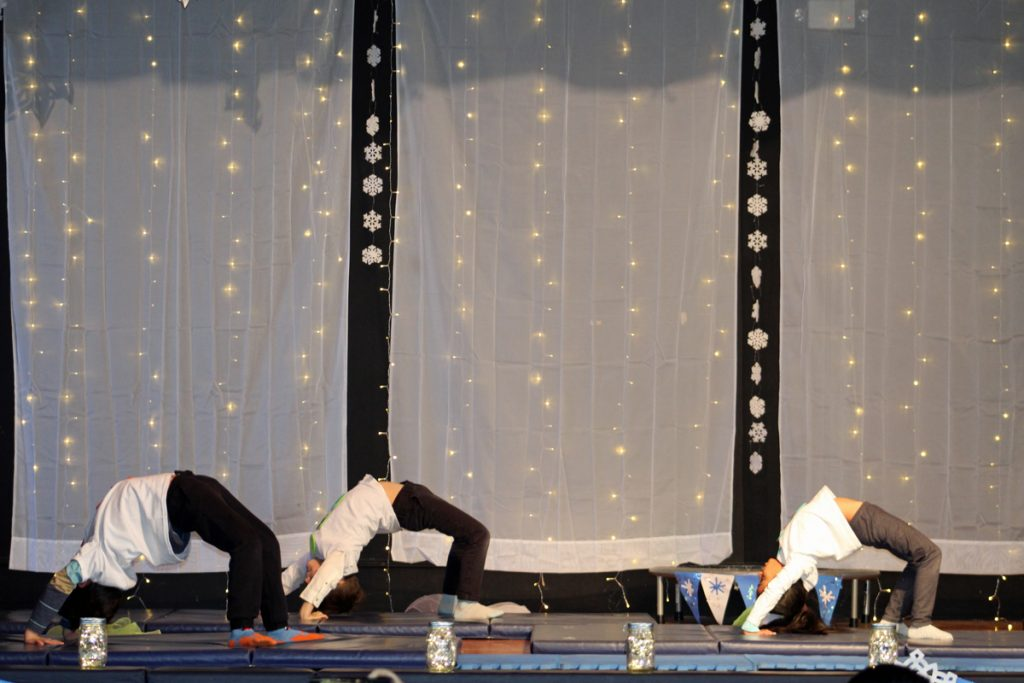 Maternelle Students Host Winter Circus
