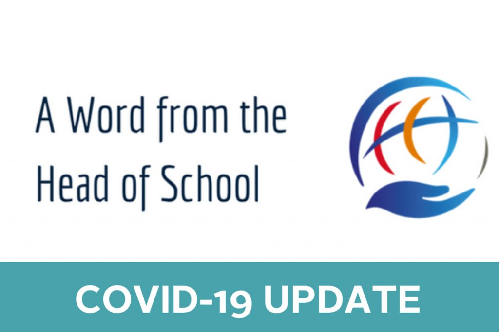 A Word From Our HOS: COVID-19 Update