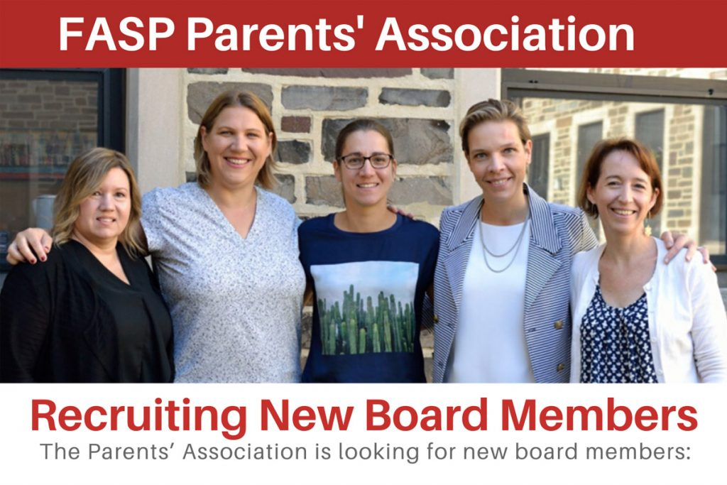 Parents' Association Officer Positions