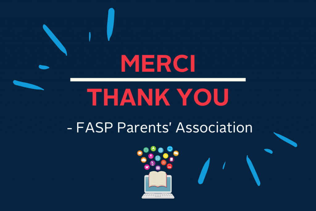 A Thank You from the Parents' Association