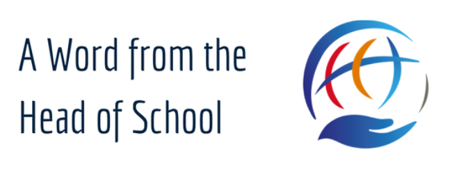 A Word From the Head of School