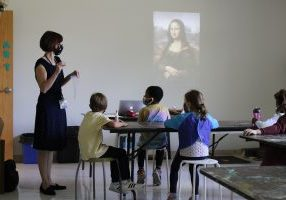 Learning about the Mona Lisa